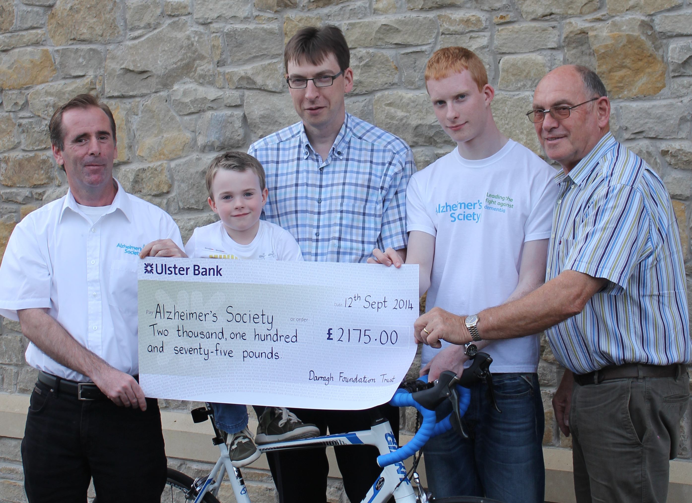 Darragh Foundation Trust - £2175.00 raised